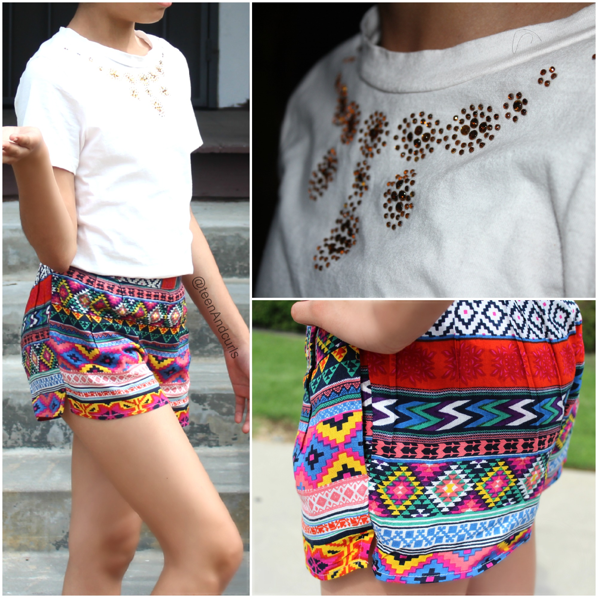 Shorts summer for teenagers
